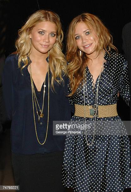 Mary Kate & Ashley Olsen at the CHUM CITY TV Building in Toronto, Canada.
