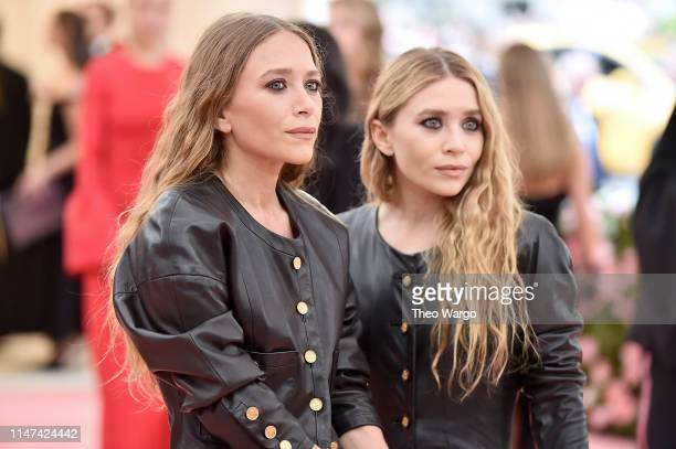 Mary Kate Olsen and Ashley Olsen attend The 2019 Met Gala Celebrating Camp: Notes on Fashion at Metropolitan Museum of Art on May 06, 2019 in New...