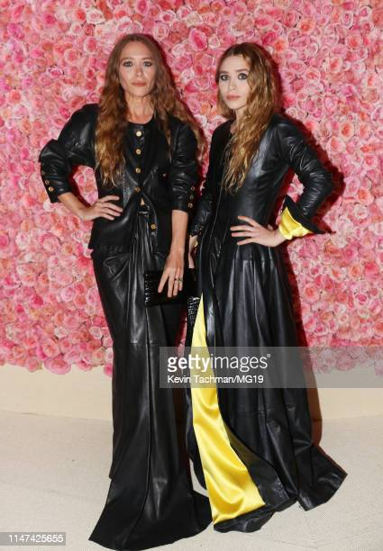 Mary Kate Olsen and Ashley Olsen attend The 2019 Met Gala Celebrating Camp Notes on Fashion at Metropolitan Museum of Art on May 06 2019 in New York...
