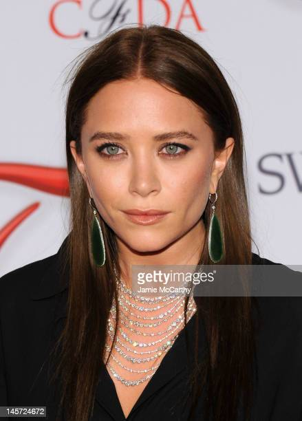 Mary Kate Olsen attends the 2012 CFDA Fashion Awards at Alice Tully Hall on June 4, 2012 in New York City.
