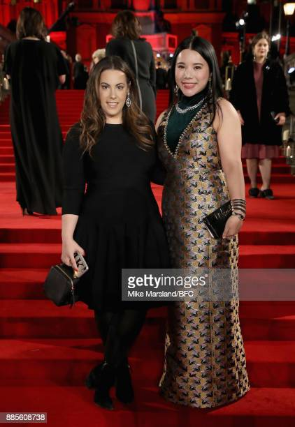 Mary Katrantzou and Wendy Yu attend The Fashion Awards 2017 in partnership with Swarovski at Royal Albert Hall on December 4 2017 in London England