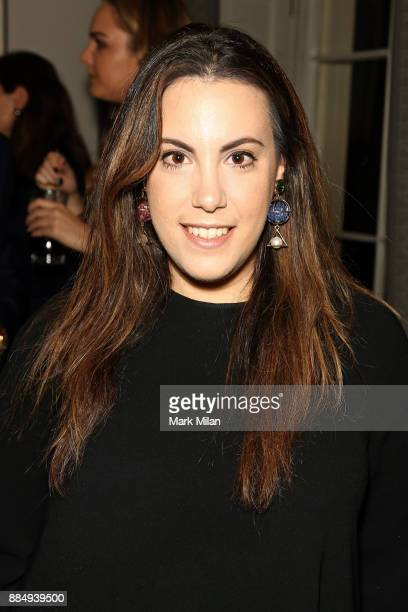 Mary Katrantzou attends a welcome dinner hosted by Nadja Swarovski in anticipation of the Fashion Awards in partnership with Swarovski at The Arts...