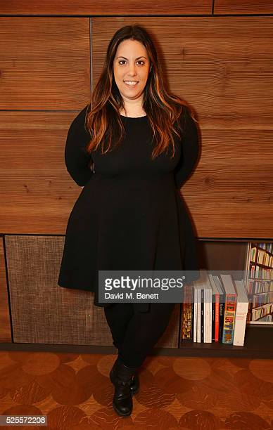 Mary Katrantzou attends the BFC Fashion Trust x Farfetch cocktail reception on April 28 2016 in London England