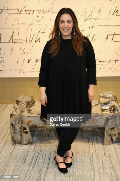Mary Katrantzou attends the Dior cocktail party to celebrate the launch of Dior Catwalk by Alexander Fury on July 19 2017 in London England
