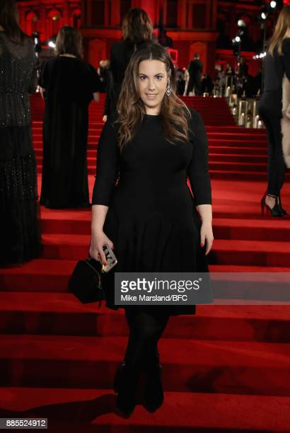 Mary Katrantzou attends The Fashion Awards 2017 in partnership with Swarovski at Royal Albert Hall on December 4 2017 in London England