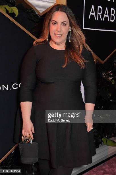 Mary Katrantzou attends the Fashion Trust Arabia Prize awards ceremony on March 28 2019 in Doha Qatar