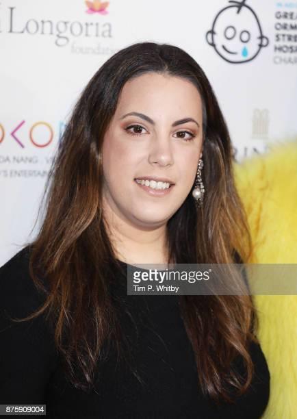 Mary Katrantzou attends The Global Gift Gala London held at Corinthia Hotel London on November 18 2017 in London England