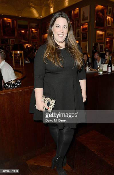 Mary Katrantzou attends the The Business Of Fashion #BoF500 Gala Dinner Party at The London EDITION Hotel on September 21 2015 in London England