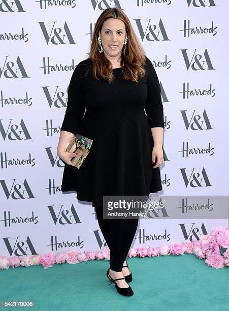 Mary Katrantzou attends the VA Summer Party at Victoria and Albert Museum on June 22 2016 in London England