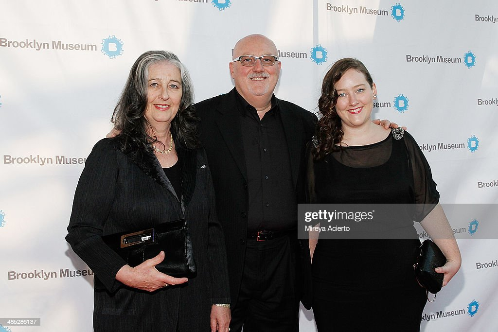Mary Kelly, Sean Kelly and Lauren Kelly attend the Brooklyn Museum's 4th annual Brooklyn Artists Ball on April 16, 2014 in the Brooklyn borough of New York City.