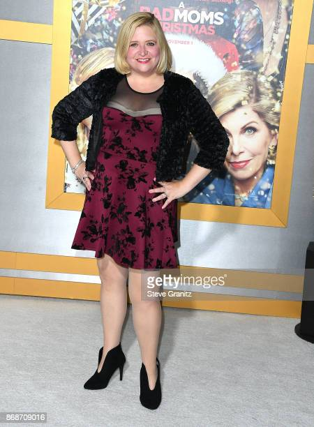 Mary Kennedy arrives at the Premiere Of STX Entertainment's 'A Bad Moms Christmas' at Regency Village Theatre on October 30 2017 in Westwood...