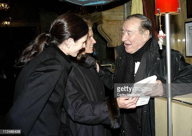 Mary Kennedy Kerry Kennedy Cuomo and Sirio Maccioni of Le Cirque 2000 *Exclusive*
