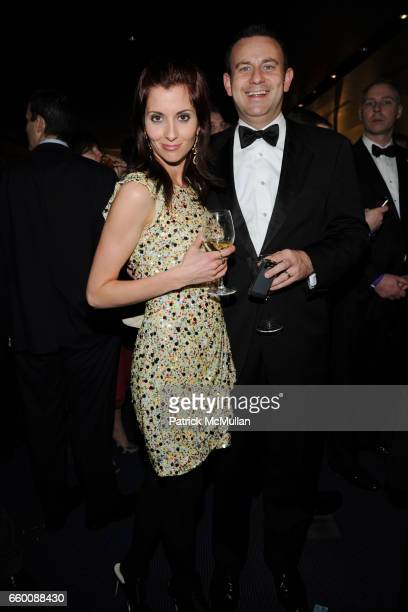 Mary Kinney and Jason Kinney attend THE HUFFINGTON POST PreInaugural Ball at The Newseum on January 19 2009 in Washington DC