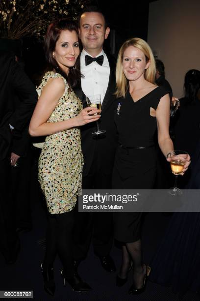 Mary Kinney Jason Kinney and Brooke Governor attend THE HUFFINGTON POST PreInaugural Ball at The Newseum on January 19 2009 in Washington DC