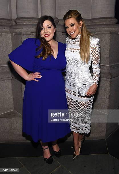 Mary Lambert and Rachel Platten attend 2016 Logo's Trailblazer Honors at Cathedral of St John the Divine on June 23 2016 in New York City