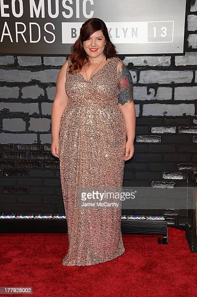 Mary Lambert attends the 2013 MTV Video Music Awards at the Barclays Center on August 25 2013 in the Brooklyn borough of New York City
