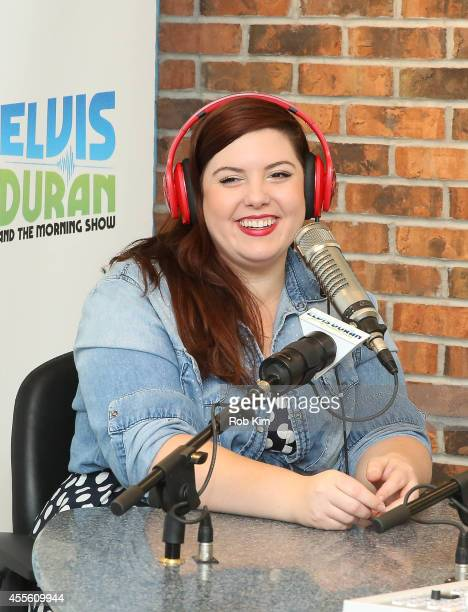 Mary Lambert visits The Elvis Duran Z100 Morning Show on September 17 2014 in New York City