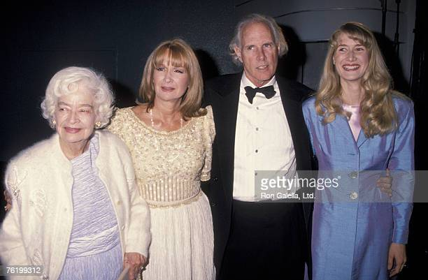 Mary Lanier Diane Ladd Bruce Dern and Laura Dern attending Hollywood Legacy Awards on November 12 1994 at the Hollywood Palladium in Hollywood...