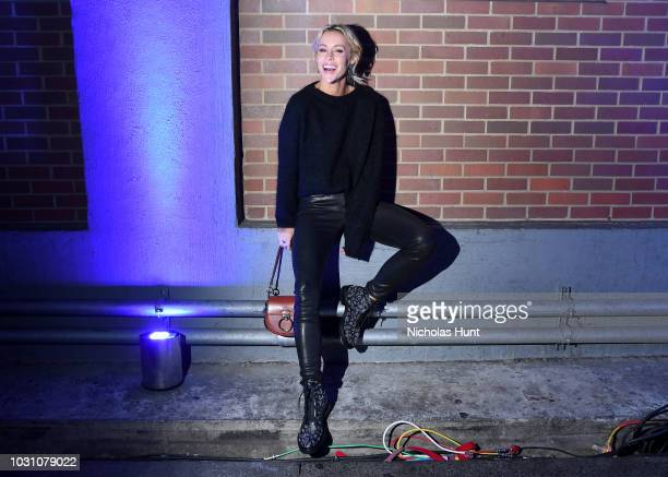 Mary Lawless Lee attends the screening of the rag bone film Time Of Day at The High Line on September 10 2018 in New York City