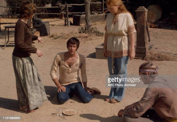Mary Layne Andrew Prine extras appearing in the Walt Disney Television via Getty Images tv series 'Matt Lincoln' episode 'Lori'