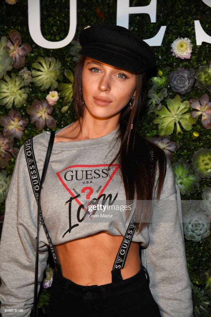 Mary Leest attends GUESS NYFW Fall Fashion Event at Public Hotel on September 13, 2017 in New York City.