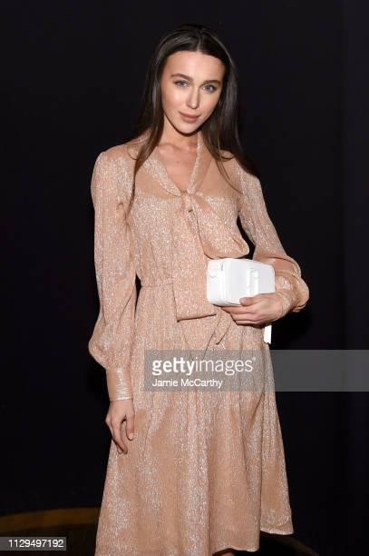 Mary Leest attends the Marc Jacobs Fall 2019 Show at Park Avenue Armory on February 13 2019 in New York City