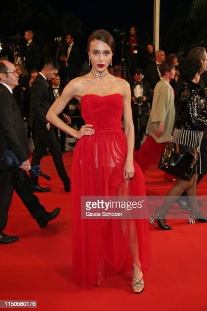 Mary Leest attends the screening of Frankie during the 72nd annual Cannes Film Festival on May 20 2019 in Cannes France