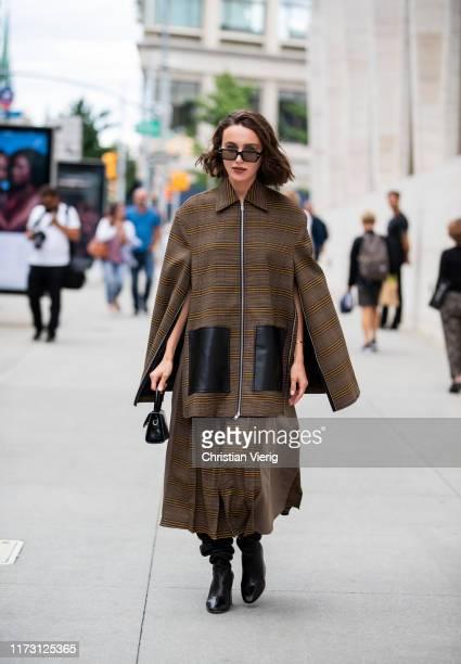 Mary Leest is seen outside Longchamp during New York Fashion Week September 2019 on September 07 2019 in New York City