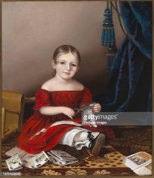 Mary Leypold Griffith , 1841. Artist Sarah Miriam Peale.