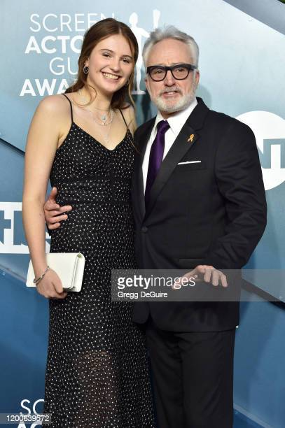 Mary Louisa Whitford and Bradley Whitford attend the 26th Annual Screen ActorsGuild Awards at The Shrine Auditorium on January 19 2020 in Los...