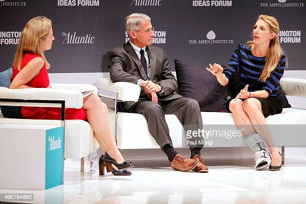 Mary Louise Kelly Contributing Editor The Atlantic Anthony Fauci Director National Institute of Allergy and Infectious Diseases and Vanessa Kerry CEO...