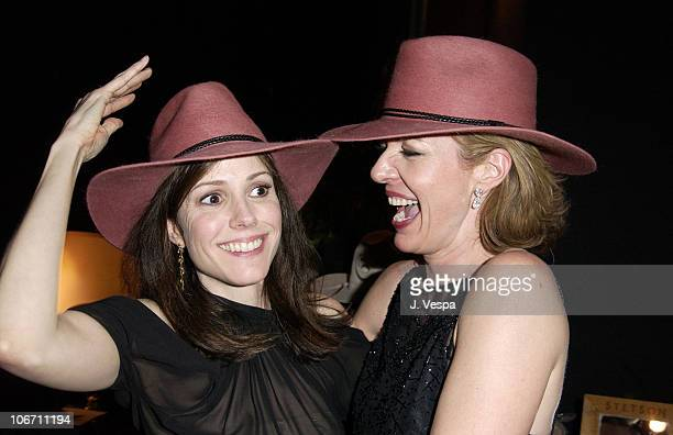Mary Louise Parker and Allison Janney with Stetson