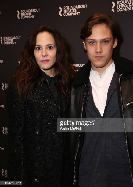 "Mary Louise Parker and William Parker attend the Broadway Opening Night performance for The Roundabout Theatre Company's ""A Soldier's Play"" at the..."