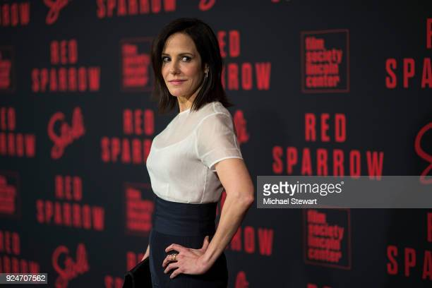 Mary Louise Parker attends the 'Red Sparrow' New York premiere at Alice Tully Hall at Lincoln Center on February 26 2018 in New York City