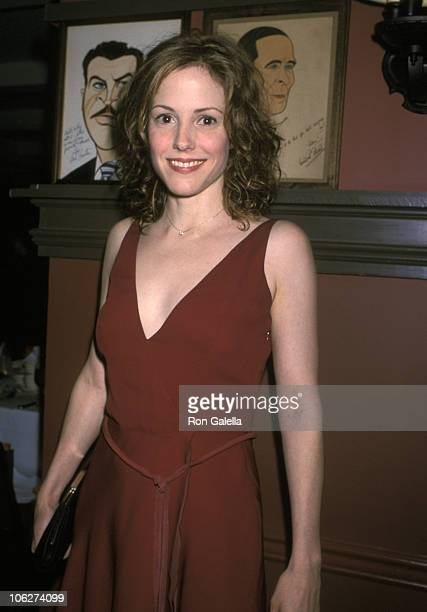 Mary Louise Parker during 2001 Outer Critics Circle Awards at Sardi's Restaurant in New York City New York United States
