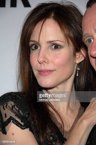 """Mary Louise Parker during Opening Night Party for Nigel Parry's """"Blunt Exhibition"""" Hosted by Men's Health - December 5, 2006 at MILK Studios in New..."""