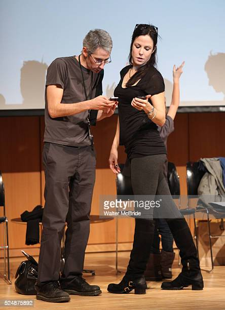 """Mary Louise Parker performing in """"The Plays and Essays of Wallace Shawn"""" presented by CUNY Graduate Center for the Humanities, Haymarket Books and..."""