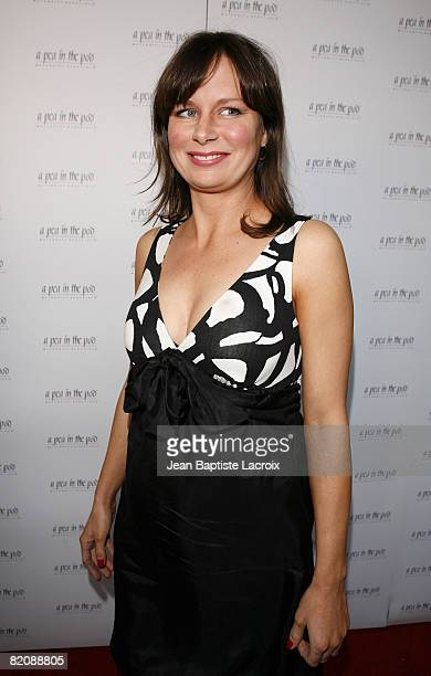 Mary Lynn Rajskub arrives for the book release party Of 'The Hot Mom To Be Handbook Womb With A View' on April 2 2008 at Pea in the Pod in Beverly...