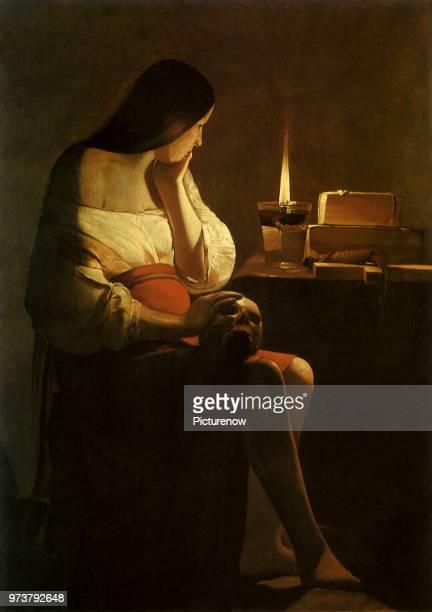 Mary Magdalen Repents La Tour Georges de 1637