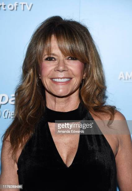 Mary Margaret Humes arrives at the 9th Annual American Humane Hero Dog Awards at The Beverly Hilton Hotel on October 05 2019 in Beverly Hills...