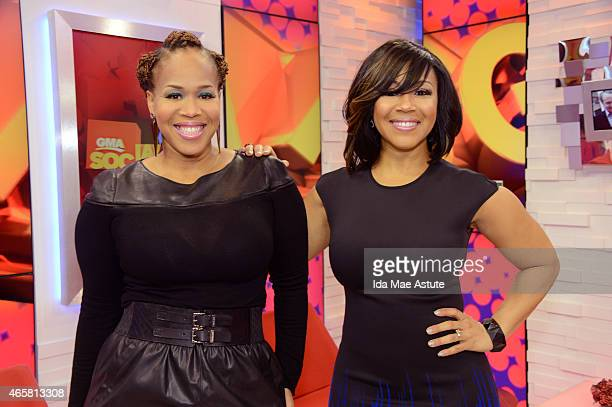 AMERICA Mary Mary performs on GOOD MORNING AMERICA 3/5/15 airing on the Walt Disney Television via Getty Images Television Network
