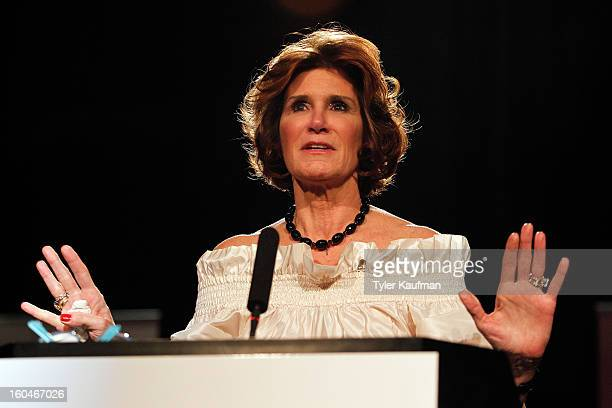 Mary Matalin attends the 2013 Legends For Charity Dinner Honoring Archie Manning at the Hyatt Regency New Orleans on January 31 2013 in New Orleans...