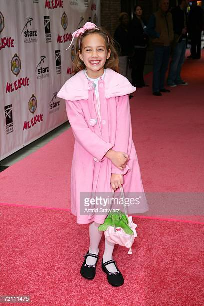 """Mary Matilyn Mouser attends the world premiere of """"Me, Eloise"""" at Carnegie Hall on October 7, 2006 in New York City."""