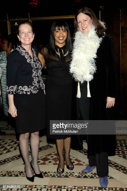Mary Matson Kenworthy Adrian Edwards Beth Frederick attend the International Women's Health Coalition 2009 Gala at Cipriani 42nd Street on February...