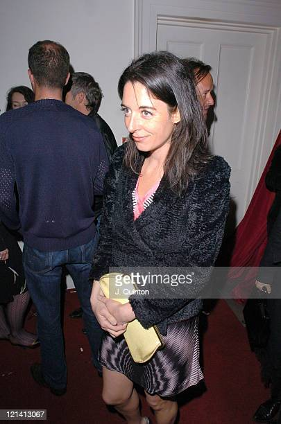 Mary Mcartney Donald during Stolichnaya Elit Vodka 'Dazed and Confused' Party at 35 Belgrave Square in London Great Britain