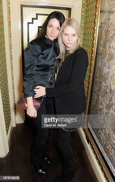 Mary McCartney and Lee Starkey attend #VauxhallPresents Made in England by Katy England screening hosted by Vauxhall Motors at The King's Head...