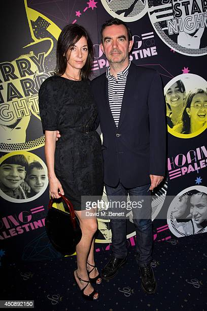 Mary McCartney and Simon Aboud arrive at The Hoping Foundation's 'Starry Starry Night' Benefit Evening For Palestinian Refugee Children at Cafe de...