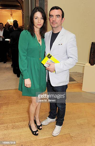 Mary McCartney and Simon Aboud attend the preview party for The Royal Academy Of Arts Summer Exhibition 2013 at Royal Academy of Arts on June 5 2013...