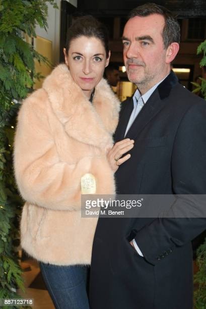 Mary McCartney and Simon Aboud attend the Stella McCartney Christmas Lights 2017 party on December 6 2017 in London England