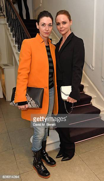 Mary McCartney and Stella McCartney attend the Stella McCartney Christmas Lights switch on at the Stella McCartney Bruton Street Store on December 7...